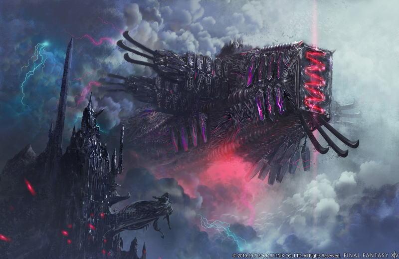 【FF14攻略】レイド「シャドウ・オブ・マハ:魔航船ヴォイドアーク」